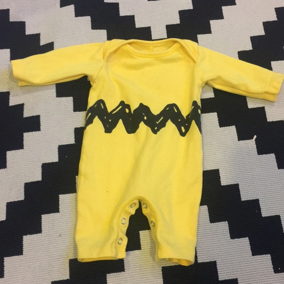 Charlie Brown baby outfit/costume & Pottery Barn Baby One Pieces   Charlie Brown Baby Outfitcostume ...